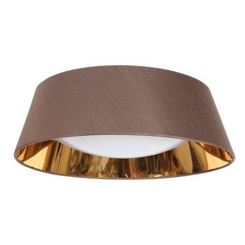 Plafon lampa oprawa sufitowa Candellux Mola 46 3x40W E27 brązowy 31-41500