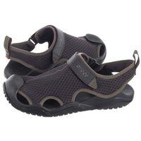 Crocs Sandały swiftwater mesh deck sandal espresso 205289-206 (cr171-a)