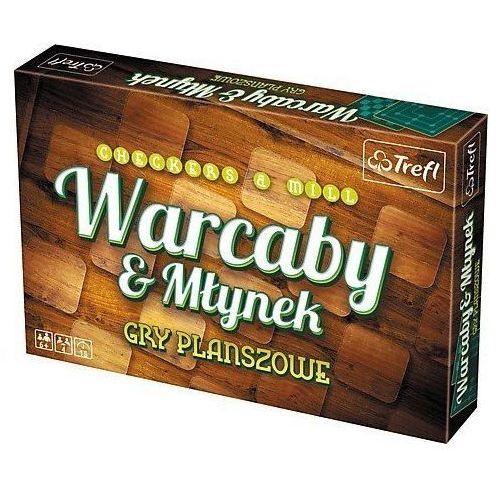 Gra warcaby/mlynek klasyczne - darmowa dostawa od 199 zł!!! marki Trefl