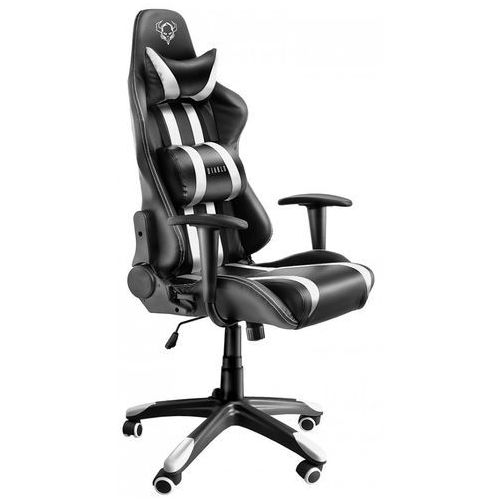 Fotel DIABLO X-One Czarno-biały + Zamów z DOSTAWĄ JUTRO! + DARMOWY TRANSPORT!