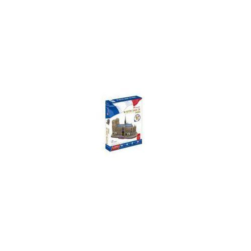 PUZZLE 3D Katedra Notre Dame 128 elementów- zestaw XL