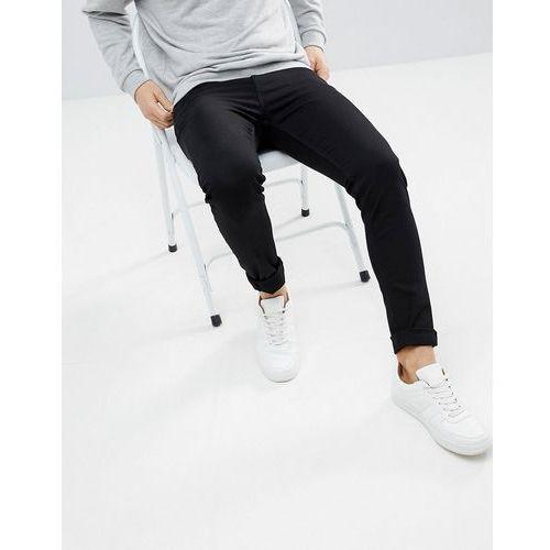 form stay black super skinny jeans - black marki Weekday