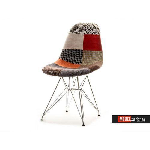 DESIGNERSKIE KRZESŁO DO JADALNI MPC ROD TAP PATCHWORK, towar z kategorii: Krzesła