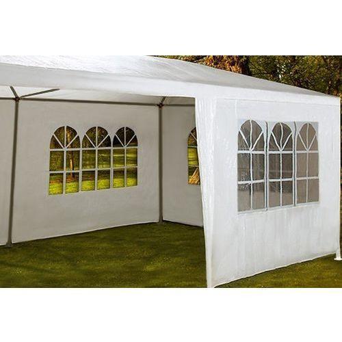 Biały pawilon ogrodowy handlowy 3x6 namiot altanka - biały marki Wideshop