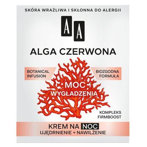 """AA Moc Roślin Alga Czerwona 40+ Krem na noc """"Moc Wygładzenia"""" 50ml"""