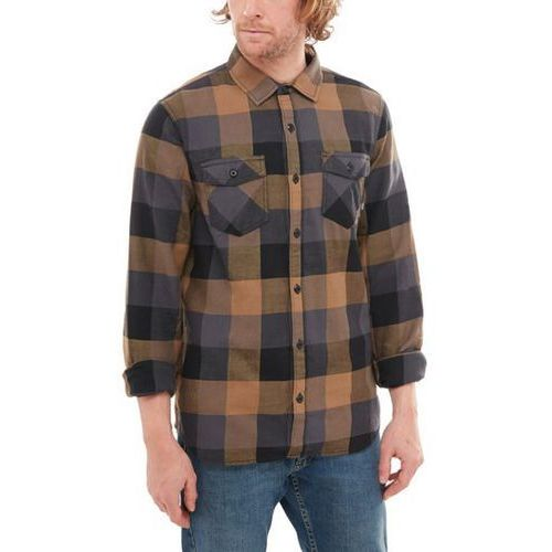 Vans Koszula - box flannel dirt/black (rqj) rozmiar: s