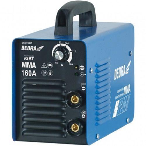 Spawarka inwertorowa DEDRA DESi190BT MMA 160A TIG ready IGBT + Zestaw elektrod gratis! + DARMOWY TRANSPORT! (5902628761446)