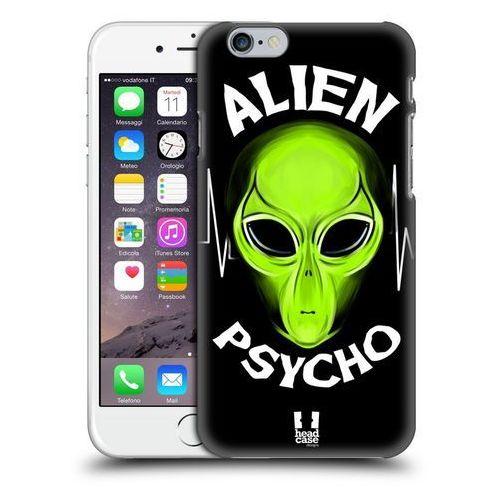 Etui plastikowe na telefon - Alien Emoji Black Psycho