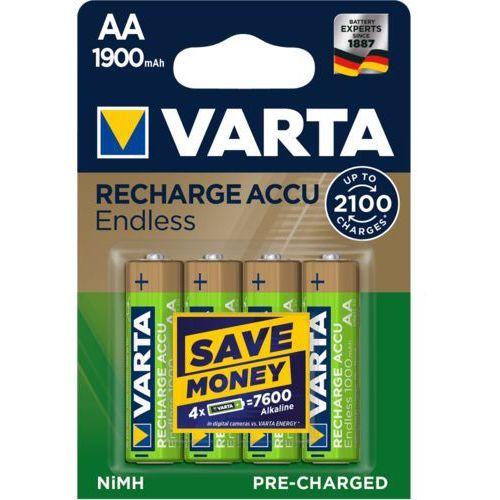 Akumulatorki VARTA ENDLESS ENERGY R2U AA 1900mAh 4szt