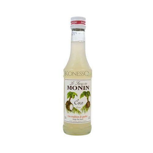 Syrop kokosowy MONIN 250ml - produkt z kategorii- Napoje, wody, soki