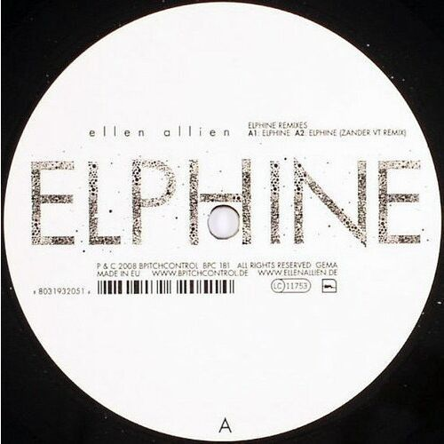 Elphine remixes - allien, ellen (płyta winylowa), 31301810