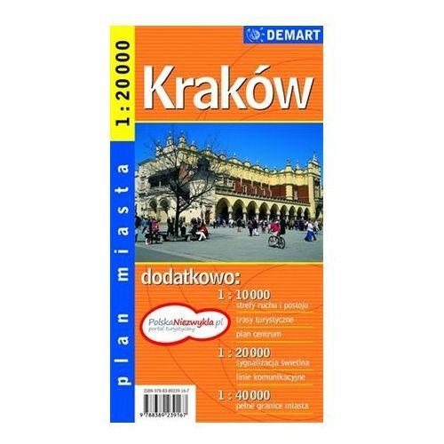 Kraków - plan miasta 1:20000, DEMART