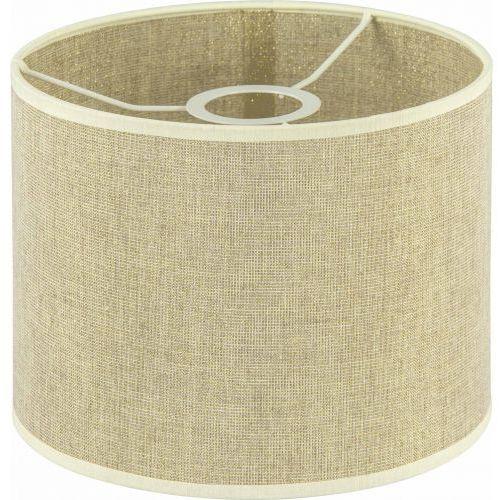 abażur cylinder złoty montecarlo 20/16, ABACZŁM2016