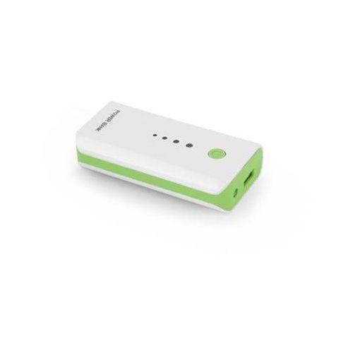 """Power bank  5200mah """"electron"""" biało/zielony marki Esperanza"""