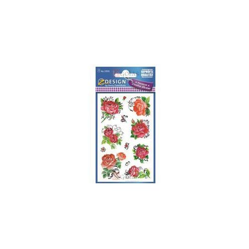 Naklejki papierowe Premium Róże