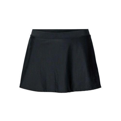 Spódniczka kąpielowa z wszytymi figami bonprix czarny, kolor czarny