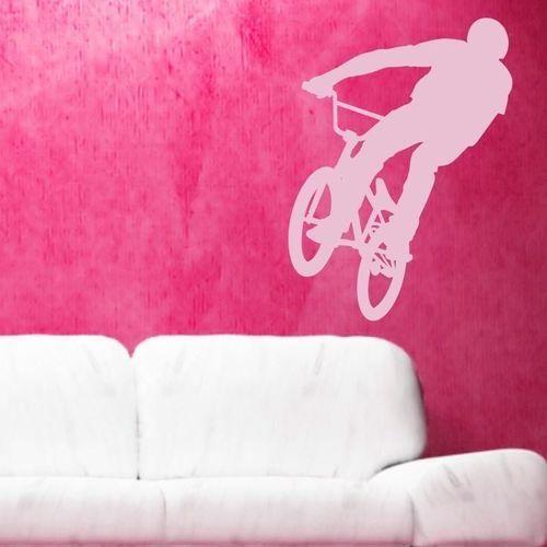 Wally - piękno dekoracji Szablon malarski rower 001