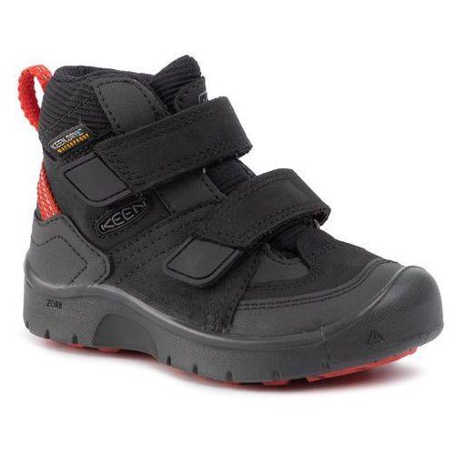 Keen Trekkingi - hikeport mid strap wp 1021967 black/bright red