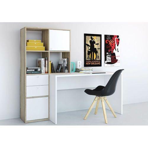 Function plus biurko z extra regałem marki Tvilum
