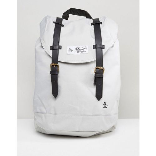 twin strap backpack - grey marki Original penguin
