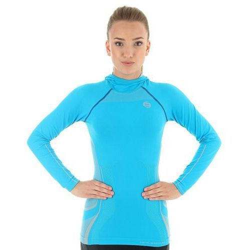 Brubeck LS11360 - damska bluza z kapturem (lazurowy)