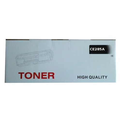 Zastępczy toner hp 85a [ce285a] black 100% nowy marki Quantec