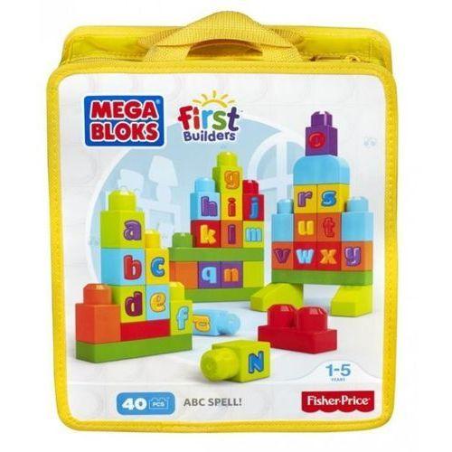 Klocki Mega Bloks ćwiczymy ABC! First Builders