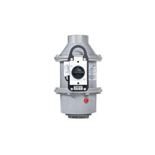 Dachowy promieniowy wentylator chemoodporny  labb 4/8-160/180/900t/c marki Harmann