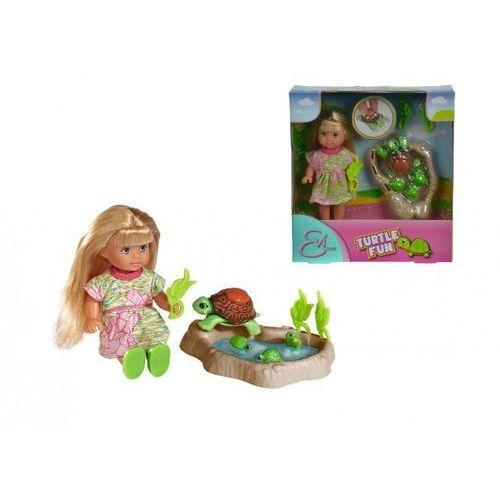 Evi Love, lalka hoduje żółwie, zestaw z kategorii Lalki