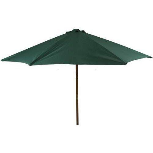 Parasol ogrodowy drewniany Poly zielony (5904134481375)