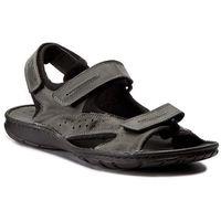 Sandały POLLONUS - 6070 Szary Crazy, kolor szary