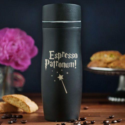 Espresso patronum - kubek termiczny - kubek termiczny marki Mygiftdna
