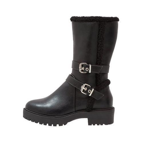 New Look Wide Fit WIDE FIT BANDIT Kozaki na platformie black, 5505912