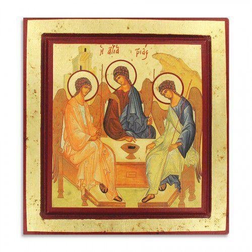 Produkt grecki Ikona grecka trójca święta