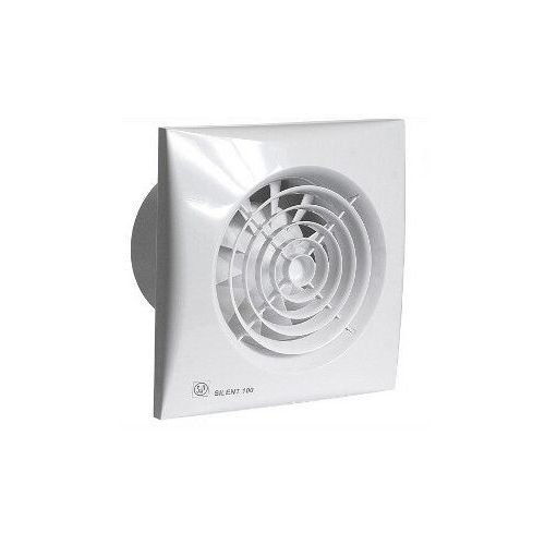 Wentylator łazienkowy cichy Silent 100 CHZ - Higrostat. Biały