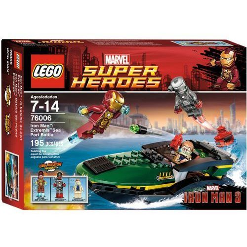 Lego SUPER HEROES Bitwa o port 76006 wyprzedaż