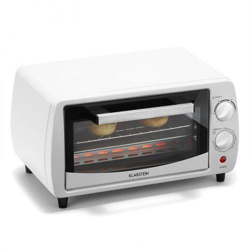 Klarstein minibreak mini piekarnik 11l 800w 60 min. timer 250°c biały (4260486151610)
