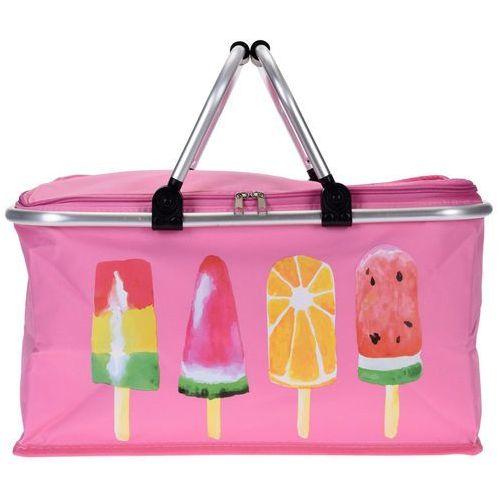 Termiczna torba turystyczna ICE CREAM, różowa, 48x28x24cm