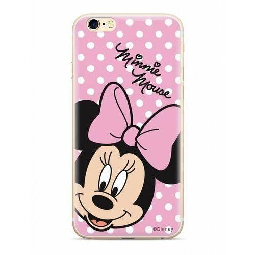 Oryginalne etui Disney z nadrukiem Minnie 008 do Huawei Mate 20 Pro różowy (DPCMIN7616)