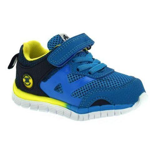 American club Buty sportowe dla dzieci es35/19 blue - niebieski ||kolorowy