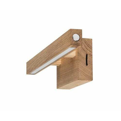 Spot Light Smal 1507160 kinkiet lampa ścienna 1x3,5W LED drewno