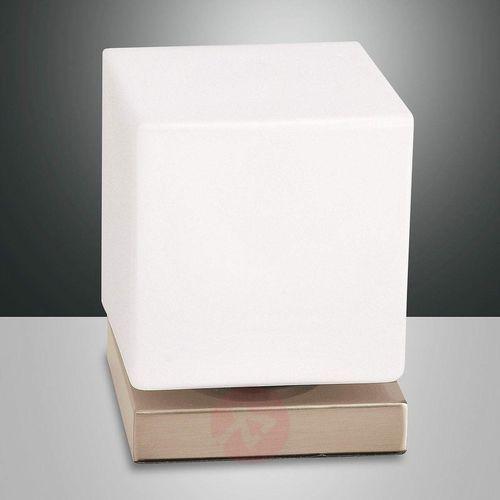 Ściemniacz dotyk., lampa stołowa LED Brenta, złota (8019282096207)