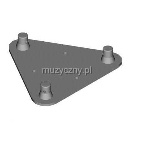 dt 23 wp wall plate element konstrukcji aluminiowej do przytwierdzenia do ściany marki Duratruss