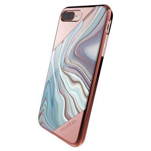 revel lux - etui iphone 7 plus (rose gold swirl) marki X-doria