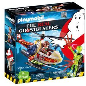 Playmobil GHOSTBUSTERS Venkman z helikopterem 9385