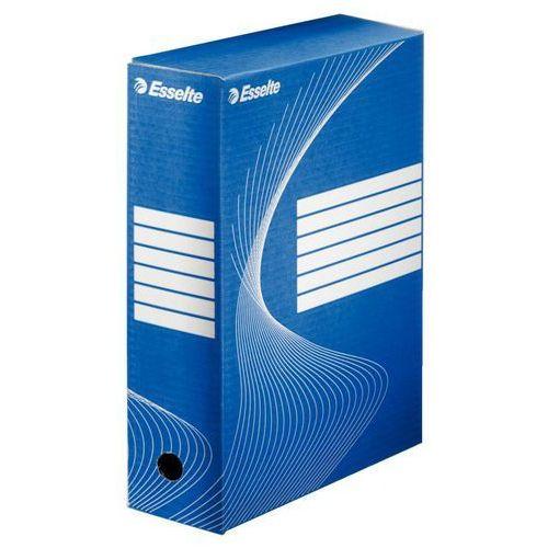 Pudło do archiwizacji 100mm niebieskie marki Esselte