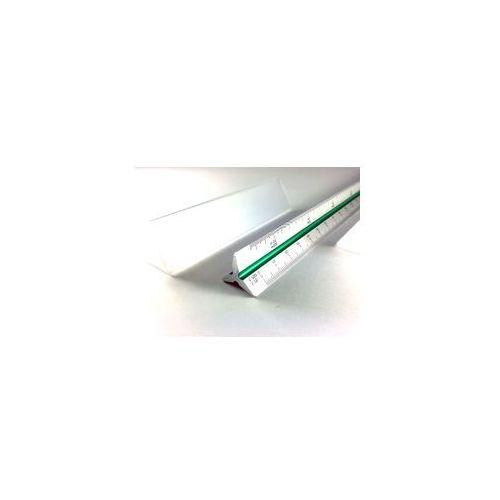 skalówka 30cm 1:10-100/1:20-200/1:125 metal marki Leniar