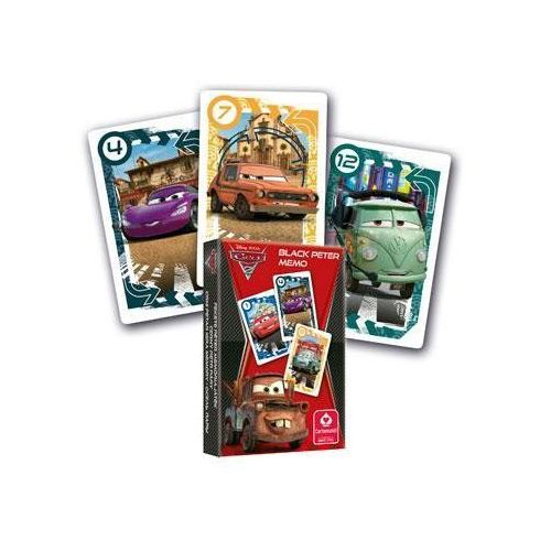 Karty do gry CARTAMUNDI Piotruś Memo Cars