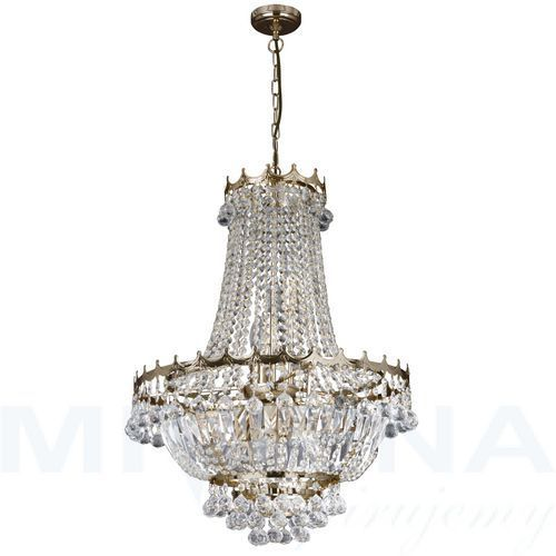 Imponujący kryształowy żyrandol versailles marki Searchlight