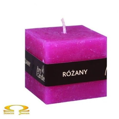 róża, świeczka zapachowa marki Pro candle